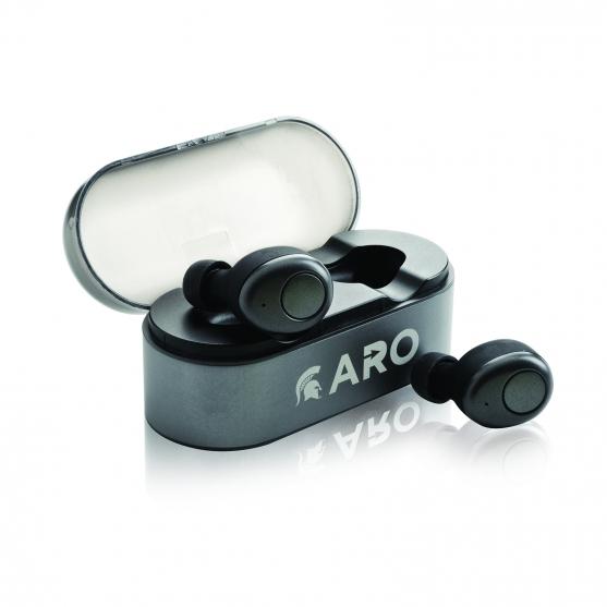 tomaxusa earphones speakers true wireless in ear. Black Bedroom Furniture Sets. Home Design Ideas