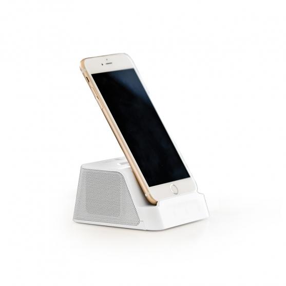 tomaxusa earphones speakers bluetooth speaker with phone stand. Black Bedroom Furniture Sets. Home Design Ideas