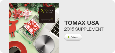 TOMAX 2015 supplement catalog